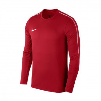 Sudadera  Nike Park 18 Drill Niño University red-White