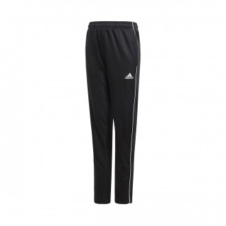 Tracksuit bottoms  adidas Kids Core 18 Training Black-White