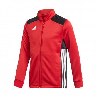 Casaco  adidas Regista 18  Polyester Niño Power red-Black