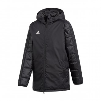Abrigo adidas Condivo 18 Winter Niño Black-White