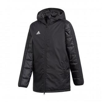 Abrigo  adidas Condivo 18 Winter Niño Black-White