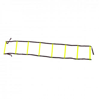 SP Fútbol Speed ladder (4 metres and 10 steps) Yellow