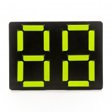 Replacement board 4th referee