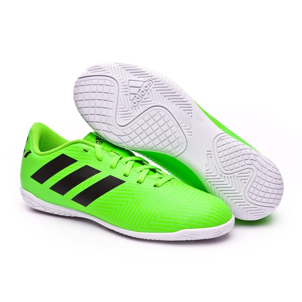 e5fe5d2a Futsal Boot adidas Kids Nemeziz Messi Tango 18.4 IN Solar green-Black - Tienda  de fútbol Fútbol Emotion
