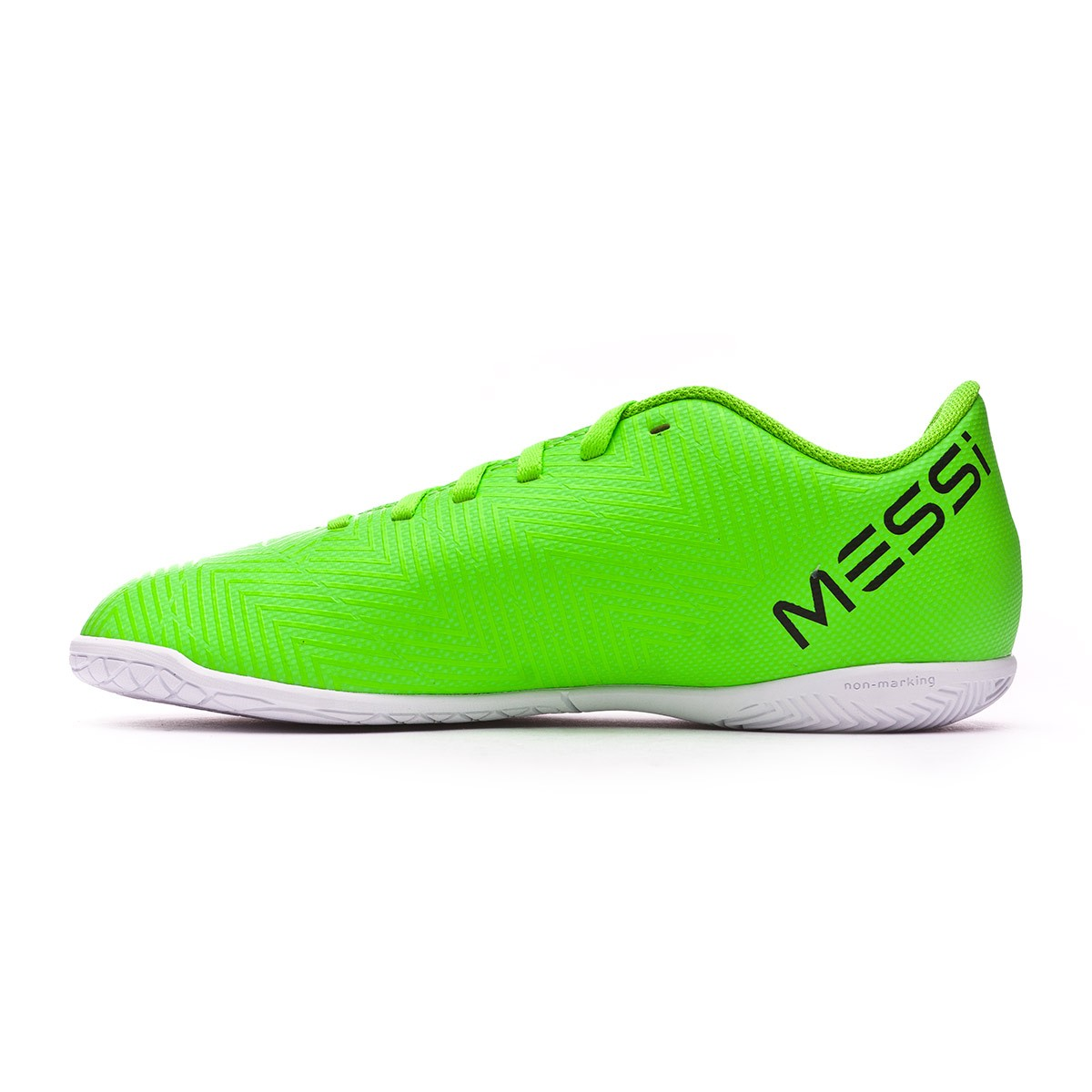 6a14fcd0a Futsal Boot adidas Kids Nemeziz Messi Tango 18.4 IN Solar green-Black -  Football store Fútbol Emotion