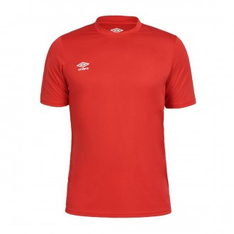 Camiseta  Umbro jr Oblivion m/c Red