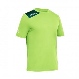 Jersey  Umbro Kids Fight m/c Fluorescent Green -Navy