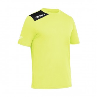 Jersey  Umbro Kids Fight m/c Fluorescent Yellow -Black