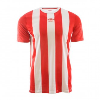 Camiseta  Umbro Brave m/c Red-White
