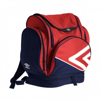 Backpack  Umbro Italia Red-Navy