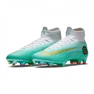 Mercurial Superfly VI Elite CR7 FG Chapter 6 Special Edition 154 Clear jade-Metallic vivid gold-White