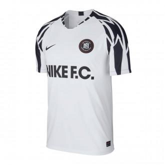 Camiseta  Nike Nike F.C. White-Black