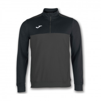 Sweatshirt  Joma Winner Gris antracita-Black