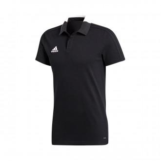 Polo shirt  adidas Condivo 18 m/c Black-White