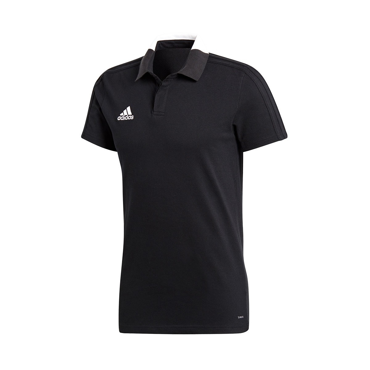 58acee6c32a Polo shirt adidas Condivo 18 m/c Black-White - Football store Fútbol Emotion