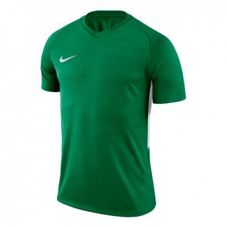 Camiseta  Nike Tiempo Premier m/c Pine green-White