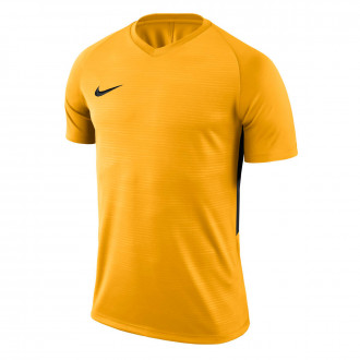 Camiseta  Nike Tiempo Premier m/c University gold-Black