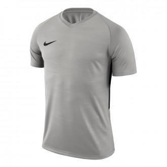 Camiseta  Nike Tiempo Premier m/c Pewter grey-Black