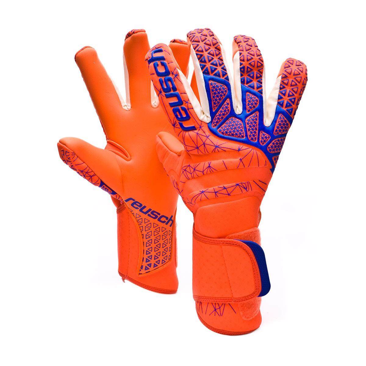 c131fe3b7 Glove Reusch Pure Contact G3 Shocking orange-Blue-Shocking orange -  Football store Fútbol Emotion