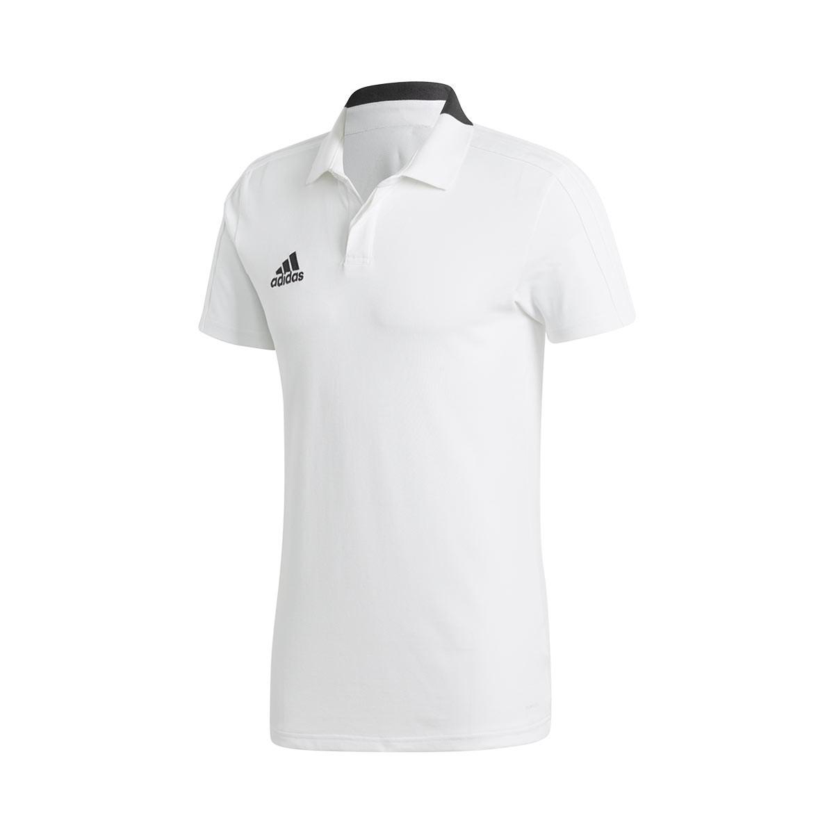 f71b95cb168 Polo shirt adidas Condivo 18 m/c White-Black - Football store Fútbol Emotion