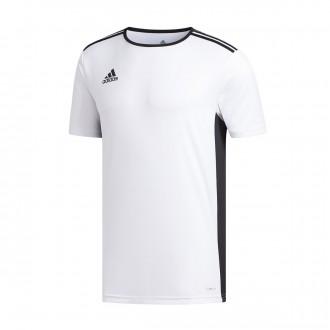 Jersey  adidas Entrada 18 m/c White-Black