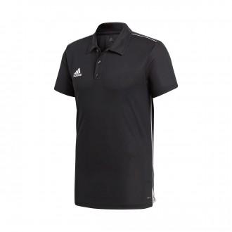 Polo shirt  adidas Core 18 m/c Black-White