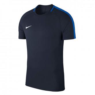 Camiseta  Nike Academy 18 Training m/c Obsidian-Royal blue-White