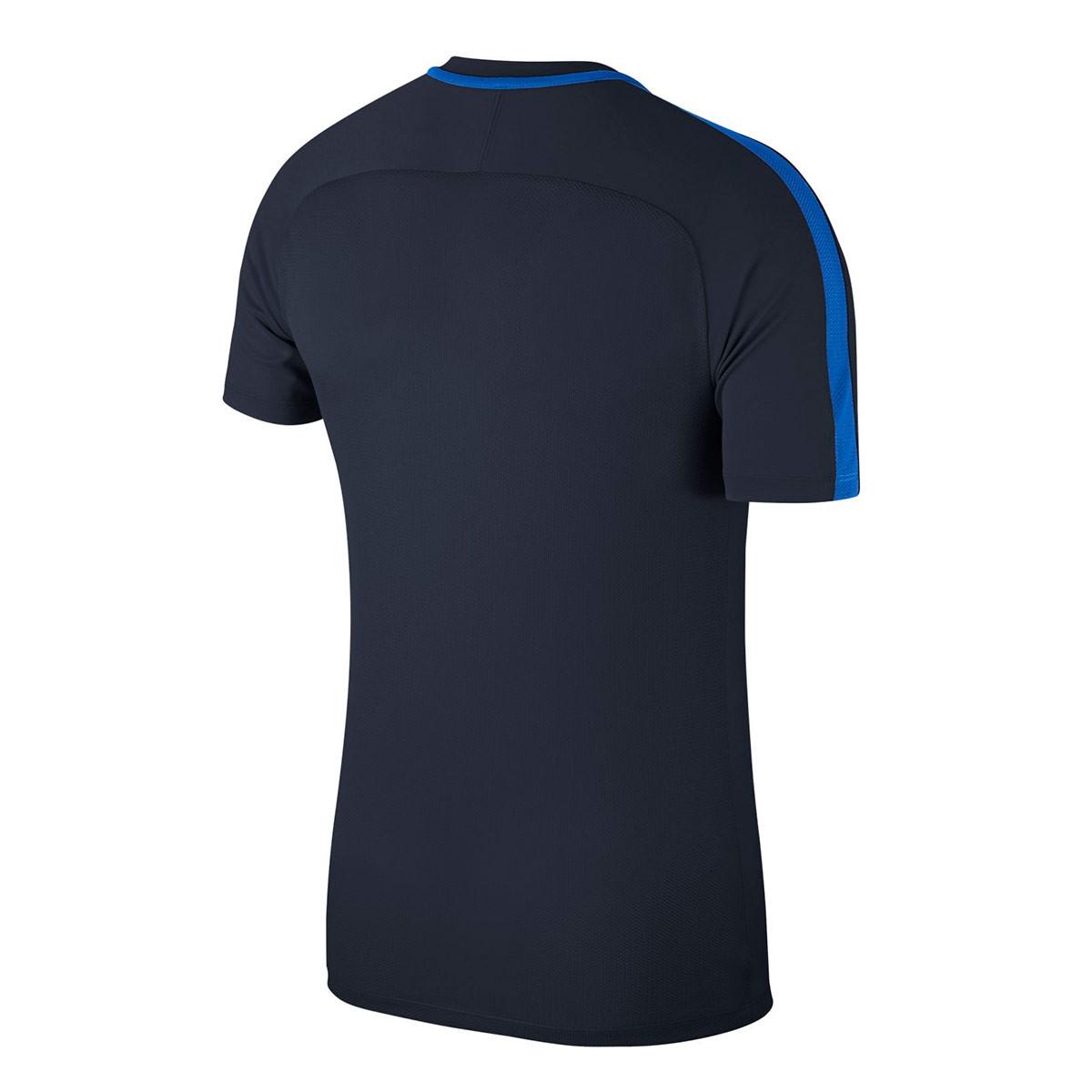 Aventurarse competencia Sarabo árabe  Jersey Nike Academy 18 Training m/c Obsidian-Royal blue-White - Football  store Fútbol Emotion