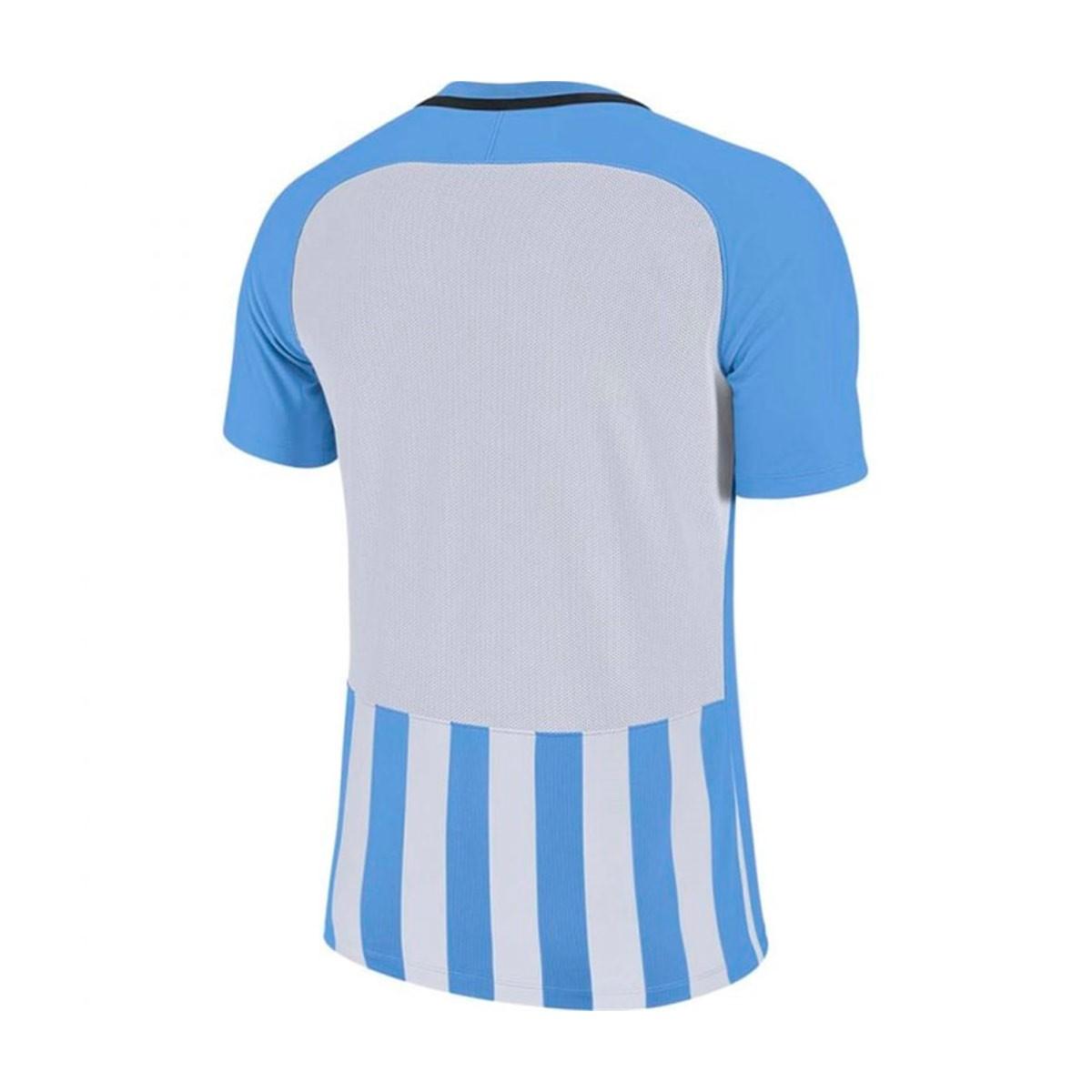 0e8832d2a1 Nike Kids Striped Division III m/c Jersey. University blue-White ...