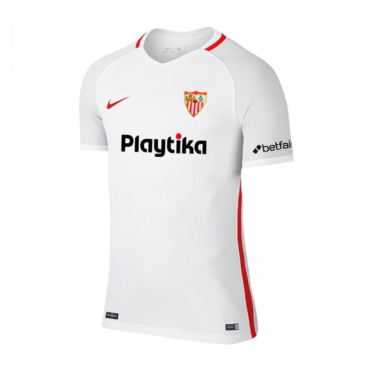 Camiseta Nike Sevilla FC Primera Equipación 2018-2019 White ... c9e26efc62964