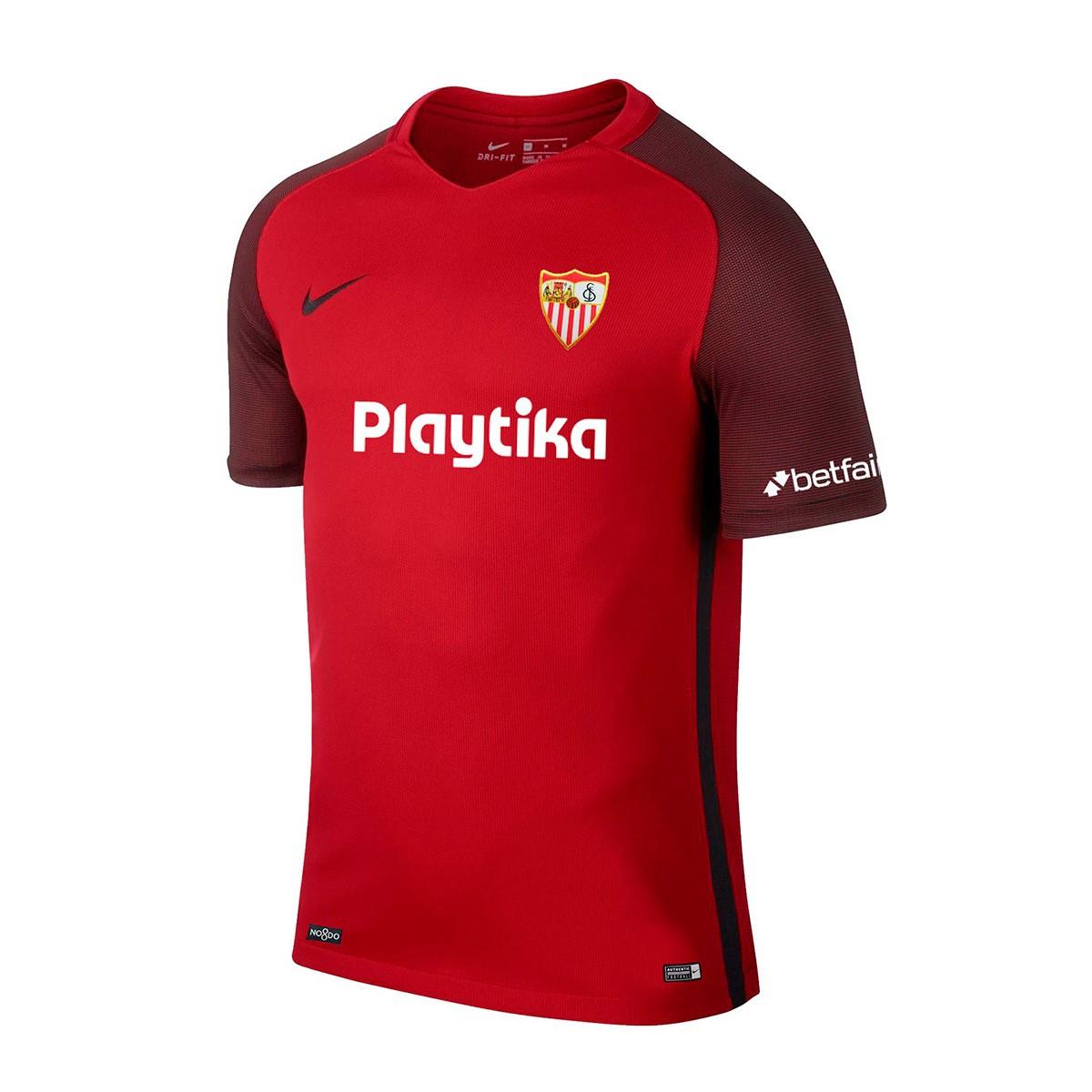 8df51a4c Playera Nike Sevilla FC Segunda Equipación 2018-2019 Red - Tienda de fútbol  Fútbol Emotion