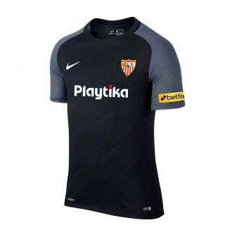 Camisola  Nike Sevilha FC Equipamento Alternativo  2018-2019 Black