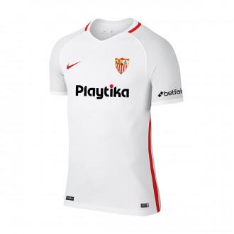 Maillot  Nike Seville FC Domicile 2018-2019 enfant Blanc