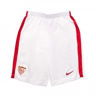 Calções  Nike Sevilla FC Equipamento Principal  2018-2019 Niño White