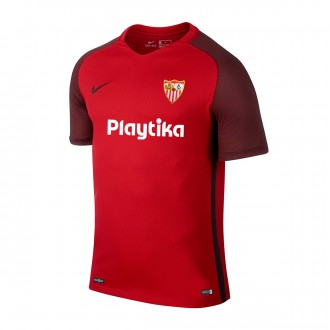 Maillot  Nike Sevilla FC Segunda Equipación 2018-2019 Niño Red