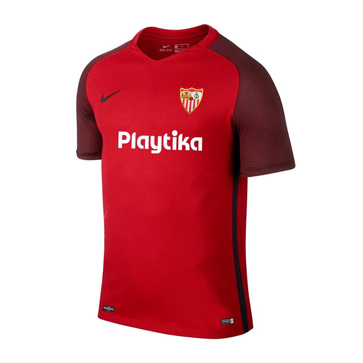 678e92e69 Camiseta Nike Sevilla FC Segunda Equipación 2018-2019 Niño Red - Tienda de fútbol  Fútbol Emotion