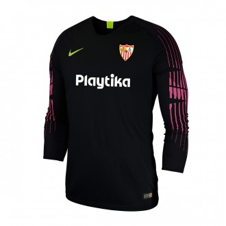 Camisola  Nike Sevilla FC Primera Equipación Portero 2018-2019 Niño Black