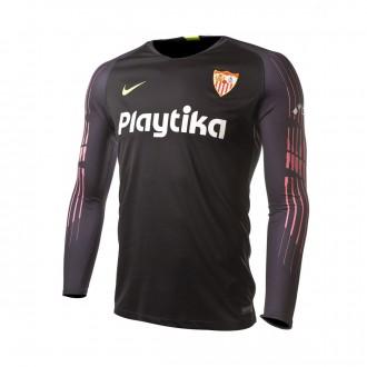 Maillot  Nike Sevilla FC Primera Equipación Portero 2018-2019 Black