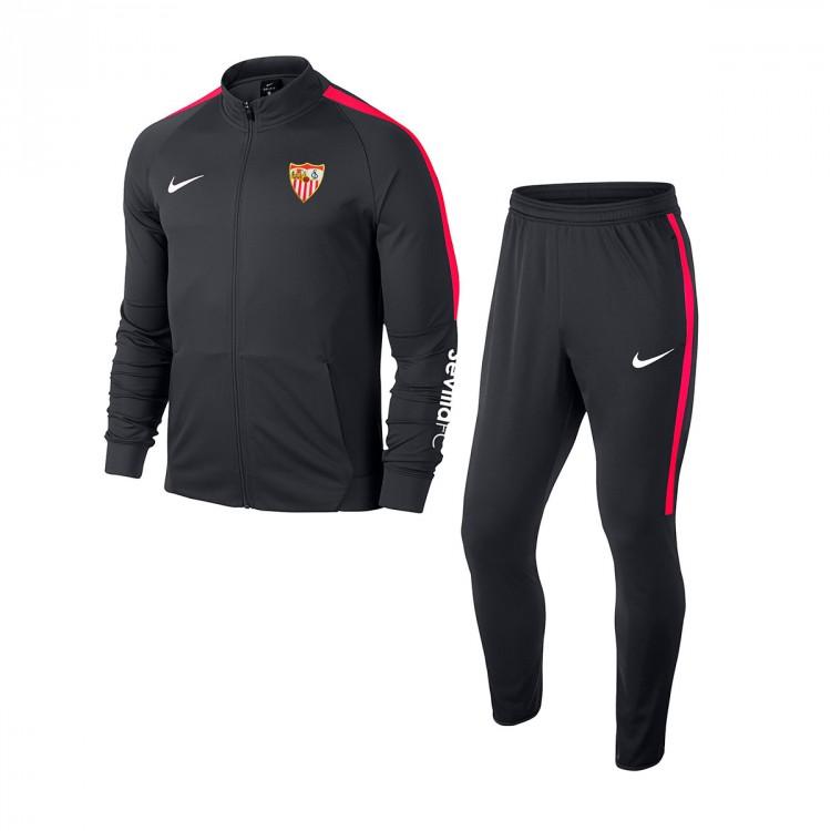 017dbc69 Chándal Nike Sevilla FC 2018-2019 Grey - Tienda de fútbol Fútbol Emotion