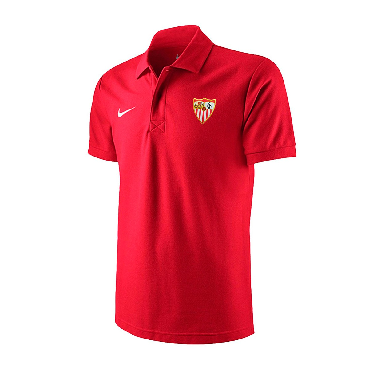 9dcc1355d2e98 Polo shirt Nike Sevilla FC 2018-2019 Red - Football store Fútbol Emotion