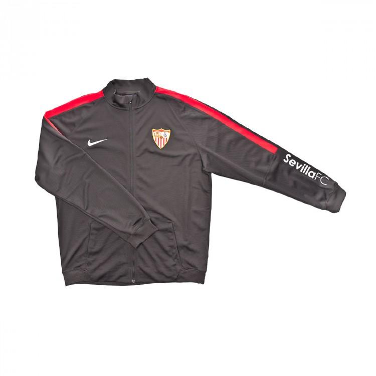 política Centro de producción Templado  Chándal Nike Sevilla FC 2018-2019 Niño Grey - Tienda de fútbol Fútbol  Emotion