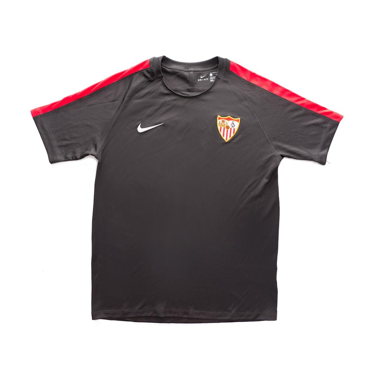 Compatible con Álbum de graduación crecimiento  Camiseta Nike Sevilla FC Training 2018-2019 Niño Grey - Tienda de fútbol  Fútbol Emotion