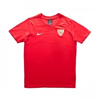 Camisola  Nike Sevilla FC Lifestyle 2018-2019 Niño Red