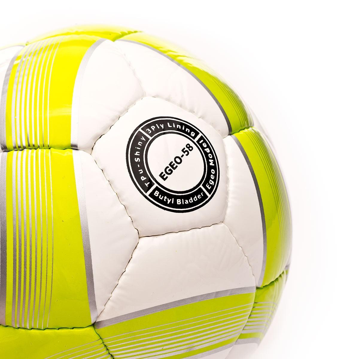Balón Joma Egeo Sala 58 Blanco-Verde - Soloporteros es ahora Fútbol ... 9b9ed6c9ffd81