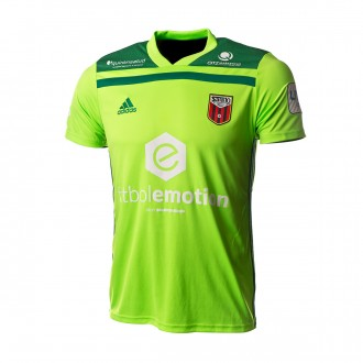 Jersey  adidas Goalkeeper Fútbol Emotion Zaragoza 18/19 Home Fluorescent green-Green