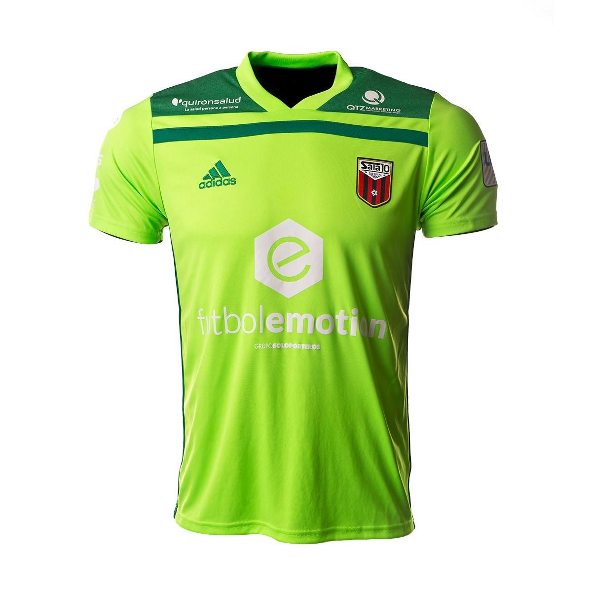0030f8bac Camiseta adidas Fútbol Emotion Zaragoza Portero 1ª Equipación 18 19 Verde  flúor-Verde - Tienda de fútbol Fútbol Emotion