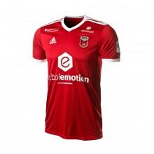 Camiseta Fútbol Emotion Zaragoza 2ª Equipación 18/19 Rojo-Blanco