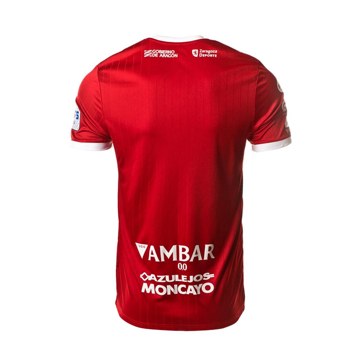 48edcbf5ef32a Camiseta adidas Fútbol Emotion Zaragoza 2ª Equipación 18 19 Rojo-Blanco -  Tienda de fútbol Fútbol Emotion