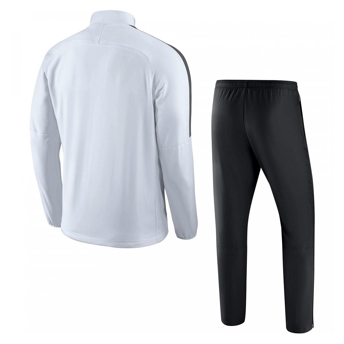 341154932 Tracksuit Nike Academy 18 Woven White-Black - Football store Fútbol ...
