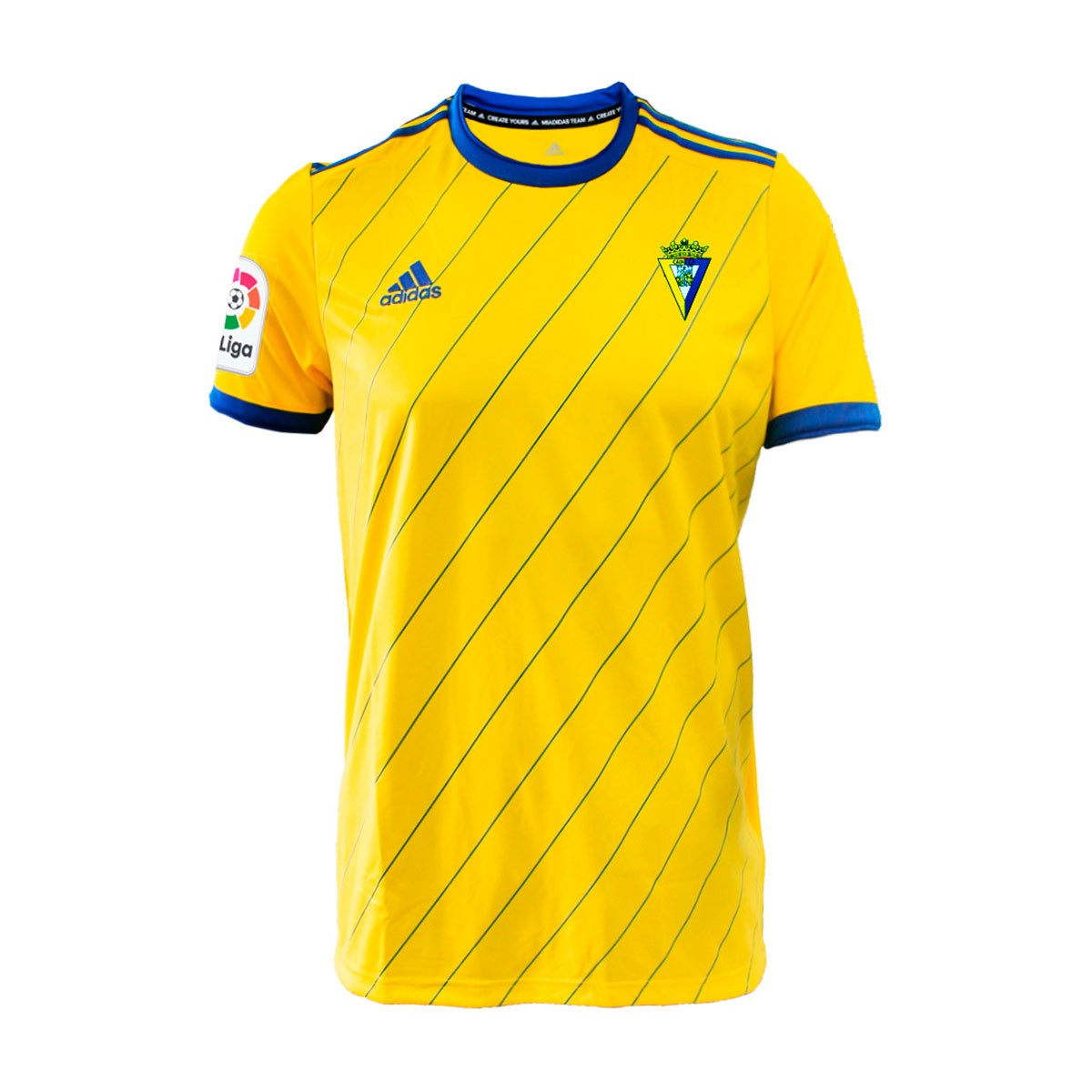 41cd44059 Jersey adidas Cadiz CF 2018-2019 Home Yellow - Football store Fútbol ...